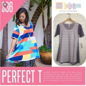 NWT LulaRoe lavender Perfect T